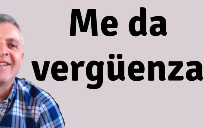 Expresiones con dar. Spanish verb dar